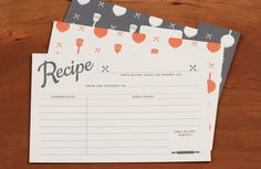 LOVE these free printable recipe cards from Love vs. Design found via @pecklife
