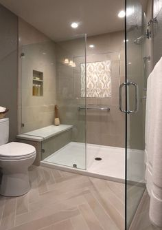 transitional bathroom by altera design remodeling - Walk In Shower Designs For Small Bathrooms