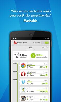 Opera Max: Economize dados do 3G e 4G no seu Android