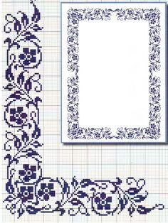 cross stitch on Stylowi. Cross Stitch Letters, Cross Stitch Borders, Cross Stitch Baby, Cross Stitch Flowers, Cross Stitch Designs, Cross Stitching, Cross Stitch Embroidery, Stitch Patterns, Loom Patterns