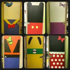 Disney Classroom doors.