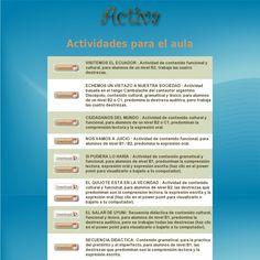 Actividades para el aula. 'http://activalista.com/Actividades_aula.html' snapped on Snapito!
