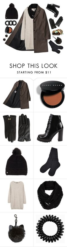 """Untitled #208"" by matolcsi16 on Polyvore featuring Bobbi Brown Cosmetics, Ted Baker, Jeffrey Campbell, UGG, Eleventy, The North Face, Invisibobble and Irene Neuwirth"