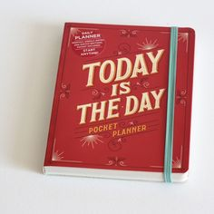 Today is the Day - planner | Een Nieuw Avontuur (we ship worldwide)