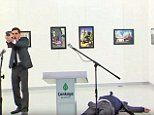 Ambassador Andrei Karlov, 62, was repeatedly shot in the back at close range by a gunman shouting: 'Allahu Akbar (God is Great)' at an art gallery in Ankara, Turkey.