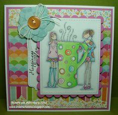 Kaarten / Cards by Renata van Miltenburg. Stamp: Stamping Bella