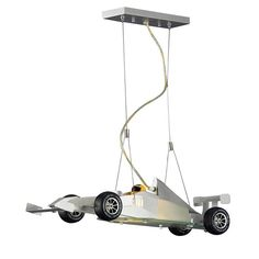 nice ELK Lighting 5082/2 2 Light Novelty Racecar Kids Ceiling Light, Satin Nickel $23...by http://dezdemon99home-decor4u.gdn