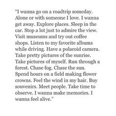 I love all of this except the part about taking pictures of myself and making flower crowns!