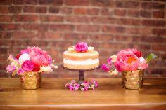 Poppin Pink Bridal Shower - Bella Paris Designs