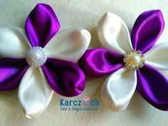 Kanzashi #23 - Transformer petal - YouTube