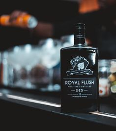 "Royal Flush Gin on Instagram: ""Your drink of choice #royalflushgin"" Gin, Flask, Barware, Perfume Bottles, Drinks, Instagram, Drinking, Beverages, Perfume Bottle"