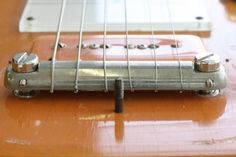 another bar tail  / Lap steel with wraparound bridge