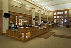 Dudley Public Library  Interior Main Reading Room and Circulation Desk  Johnson Roberts Associates Architects Boston   Chicago