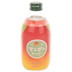 Kanjuku Mango Soda, 10.14 oz