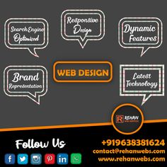 A stunning website is the foundation of your strong online presence. We create affordable websites 💪 using the latest technologies that look great on desktops, tablets, and mobile phones. Our website design services follow SEO best practices to get your website found in search results.   Get in Touch, 📞 +(91) 9638381624 📩 contact@rehanwebs.com 🔗 www.rehanwebs.com  #webdesign #webdevelopment #website #technology #webdev #tech #computer #wordpress #digitalmarketing
