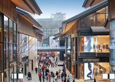 Sino-Ocean Taikoo Li Chengdu :: the Oval Partnership Retail Architecture, Classic Architecture, Chinese Architecture, Commercial Architecture, Landscape Architecture, Architecture Design, Commercial Complex, Commercial Street, Centre Commercial