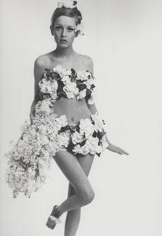 Twiggy, Vogue photo Bert Stern 1967