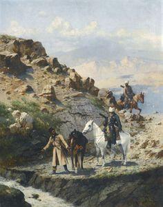 Caucasus Cherkess Circassian Mountaineers