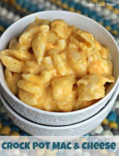I'd like to do this with Gluten Free pasta!! http://www.barilla.com/gluten-free-pasta?gclid=CI7MzazizroCFadFMgodHmMAdg  Crock Pot Mac