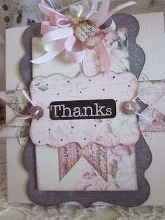Vintage Thank You. Vintage Cards, Cardmaking, Frame, Home Decor, Picture Frame, Decoration Home, Room Decor, Frames, Home Interior Design
