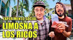 Tratando a los ricos como pobres | Experimento Social - La Vida Del Desvelado - YouTube