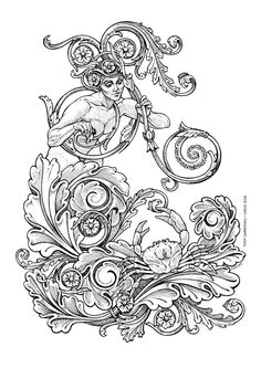 Cancer zodiac : #Dibujos e #Ilustraciones #Illustrations de Tony Carbonell…