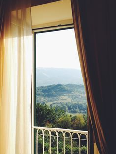 Room with a view, Atina Italy