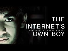 Watch The Internet's Own Boy: The Story of Aaron Swartz online. Documentary chronicling the life and work of internet activist and programming prodigy Aaron Swartz. Aaron Swartz, Internet, Political Organization, Net Neutrality, Fight For Us, Documentary Film, Computer Science, Social Justice, Videos