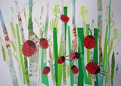 Primavera Primavera The post Primavera appeared first on Knutselen ideeën. Art Activities For Kids, Preschool Crafts, Art For Kids, Crafts For Kids, Arts And Crafts, Kindergarten Art Lessons, Art Lessons Elementary, Spring Art, Summer Art