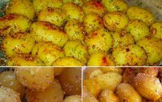 Pečené brambory se sezamem | NejRecept.cz