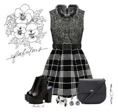 """""""Skater Dress"""" by freida-adams ❤ liked on Polyvore featuring Kate Spade, Stella & Dot, skaterdress and bellastreasure"""
