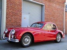 1955 Jaguar XK140 MC FHC