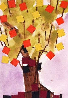 """""""BLOSSOM"""" Works on Paper. It Works, Collage, Abstract, Paper, Artwork, Painting, Summary, Collages, Work Of Art"""