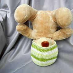 Crochet Kids Hat With Green Stripes - Crowe Shea Fashions #sellergroup