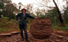 """Andy Goldsworthy """"This could be Melbourne Australia."""" KB"""