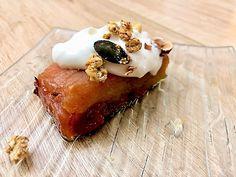 Claire Au Matcha: Terrine de Pommes Caramélisées Buffet Dessert, Dessert Sans Gluten, Matcha, Waffles, Pie, Fruit, Breakfast, Sweet, Lactose