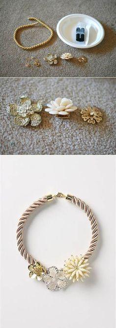 Marjorelle necklace | DIY Stuff