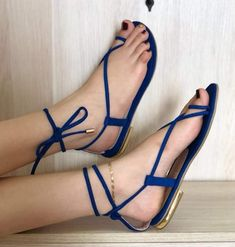 Strappy High Heels, Stiletto Heels, Cute Shoes, Me Too Shoes, Flat Sandals, Flats, Day Backpacks, Kinds Of Shoes, Beautiful Legs