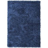 Found it at Wayfair - Flux Blue Solid Area Rug