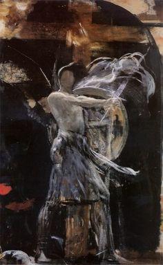 Αρχαγγελος, Νικόλαος Γύζης | Καμβάς, αφίσα, κορνίζα, λαδοτυπία, πίνακες ζωγραφικής | Artivity.gr