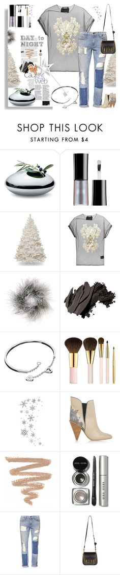 """Casually bat Smart"" by dragananovcic ❤ liked on Polyvore featuring Philippi Design, Giorgio Armani, AntPitagora, Sage & Co., Bobbi Brown Cosmetics, Cartier, AERIN, Luv Aj, See by Chloé and Frame Denim"