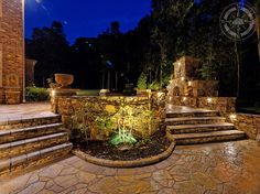 Outdoors look bland without some #night #lights. Don't let your #landscape look boring this winter. Lighten it up to enjoy the season. https://wemakedirtlookgood.com/services/outdoor-lights/