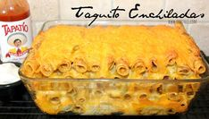~Taquito Enchiladas! | Oh Bite It