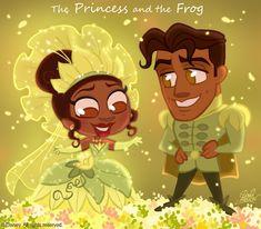 The Princess and the Frog   David Gilson