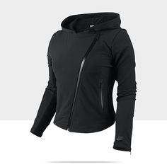 Wore this in the Nike Fashion Show this week- LOVE IT! Nike Stretch Woven Women's Motorcycle Jacket