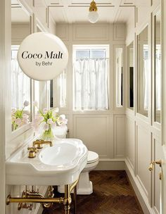 Get Inspired With House & Home's 2019 Paint Trends - Essential Neutral: Coco Malt Behr Modern Paint Colors, Bedroom Paint Colors, Interior Paint Colors, Paint Colors For Home, Room Colors, Wall Colors, House Colors, Neutral Paint, Gray Paint