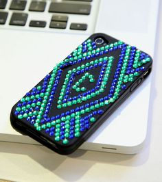 #DIY Blinged Out Cell Phone Case -- Directions available at Joann.com