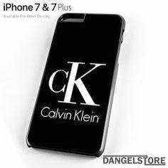 Calvin Klein Logo For iPhone 7 Case - iPhone 7 / Black