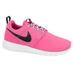 Nike Roshe Run - Girls' Grade School Selected Style: Pink Foil/Black/White