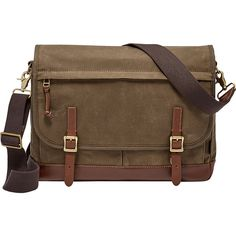 Fossil Defender Messenger ($198) ❤ liked on Polyvore featuring men's fashion, men's bags, men's messenger bags, brown, mens messenger bags, mens laptop messenger bag, fossil mens messenger bags and mens brown leather messenger bag - Sale! Up to 75% OFF! Shot at Stylizio for women's and men's designer handbags, luxury sunglasses, watches, jewelry, purses, wallets, clothes, underwear